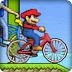 卡通人物自行车大赛