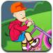光头强骑单车