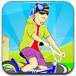 驾驶山地自行车比赛