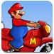 超級瑪麗山地摩托車