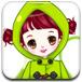 绿装可爱女孩
