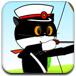黑猫警长射杀老鼠