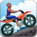 蜘蛛侠驾驶摩托车