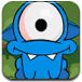可爱小蓝怪找眼球