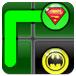 超級英雄圖標連線