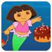 朵拉给美人鱼过生日