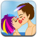 非主流海滩接吻