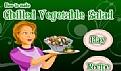 做冷冻蔬菜沙拉