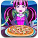 可爱公主做披萨