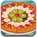 美味的水果披萨