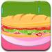 芭比的美味牛肉汉堡