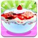 美味的草莓甜点