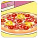 米娅制作披萨