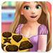 长发公主制作巧克力