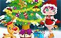 动感圣诞树