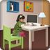 设计女孩书房