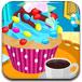 设计多彩纸杯蛋糕
