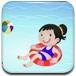 装饰儿童游泳池
