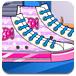 时尚的滑板鞋