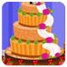 设计圣诞婚礼蛋糕