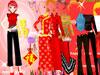 中国新年换旗袍