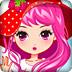 可爱的草莓公主装扮