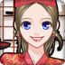 寿司店里的女孩