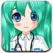 漂亮的眼科小护士