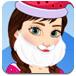 安娜装扮圣诞老人
