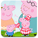 粉红小猪与妈妈