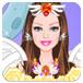 可爱芭比天使新娘