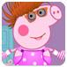 打扮粉红小猪
