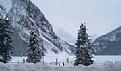 雪景找水晶