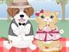 小狗和小猫的约会记