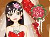 美丽新娘漂亮婚纱