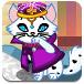 公主打扮宠物猫