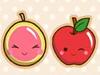 可爱水果翻翻看