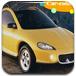 黄色轿车图片拼图
