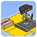遥控机器人搬运纸箱