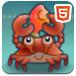 螃蟹扔小鱼